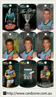2010 Select AFL Stars Tags Base Team Set Port Adelaide(9)