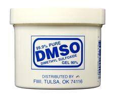 DMSO GEL 4 oz 99.9% Pure Dimethyl Sulfoxide Pyrogen Free Acetone free