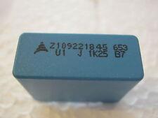 100nF, 0,1µF, 5%, 1250V- ,500V~, RM22,5  Impulsfest, B32653A7104J,  4 Stück