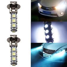2x H3 13 SMD 5050 LED Xenon Weiß Nebelscheinwerfer Nebellichter Licht Birne DRL