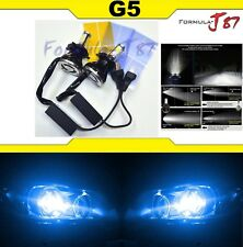 LED Kit G5 80W 9003 HB2 H4 10000K Blue Headlight Two Bulbs High Low Plug Play OE