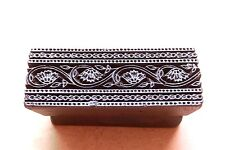 Vintage Traditional Hand Carved Wooden Textile/Fabric/wallpaper Print Block #144