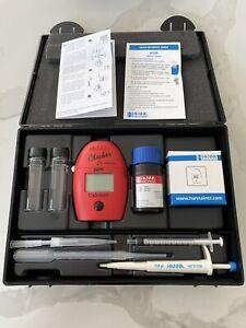 Hanna Instruments HI758U ppm Marine Calcium Checker Colorimeter Saltwater test