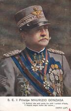 9466) WW1, MAURIZIO GONZAGA DA VENEZIA, 2 MEDAGLIE D'ORO AL VALOR MILITARE.