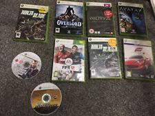 9 x XBOX 360 Games Bundle Joblot