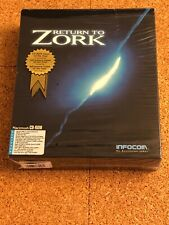 RETURN TO ZORK-PC RARE! TESTED+FREE SHIPPING 🔥