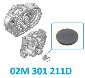 Verschlussdeckel Getriebegehäuse Getriebe VAG 02M 301 211D