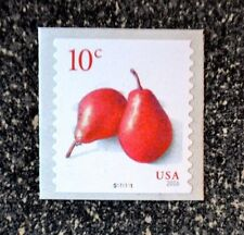 2016USA #5039 10c Pears - Plate Number Coil Single  PNC  Mint  #S111111   pear
