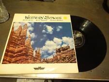 STEVE ROACH/KEVIN BRAHENY/RICHARD BURMER - WESTERN SPACES LP synth brian eno