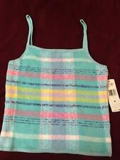 NWT Ralph Lauren Polo Sweater Tank Top 100% Cotton Size Medium