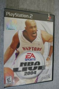 NBA Live 2004 (Sony PlayStation 2, 2003) PS2 Video Game Complete