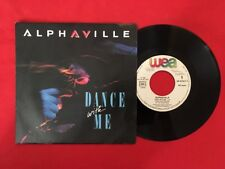 ALPHAVILLE DANCE WITH ME 1986 248747-7 VG VINYLE 45T SP
