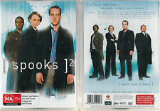 SPOOKS Season 2 * NEW & SEALED 5-DVD Set * Region 4   UPC: 5021456129003