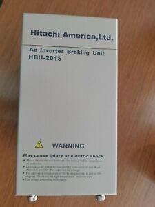 Hitachi America AC inverter breaking unit HBU-2015