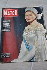 paris match 384 monroe bergman charleroi 18 aout 1956
