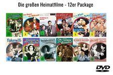 12 HEIMATFILME Musikfilme KLASSIKER Theo Lingen PAUL DAHLKE Hans Moser ..DVD Neu