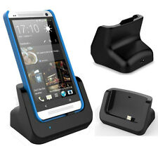 For HTC One M7 High Quality Desktop Magnetic Charging Dock Cradle Stand Charger