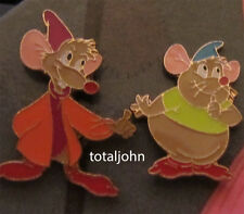 Disney Cinderella 'Dreams Do Come True' Tin Set Jaq and Gus the Mouse 2 Pins