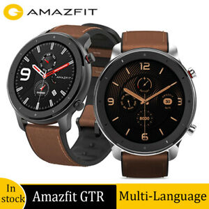 "Amazfit GTR 47mm Smart Watch AMOLED Display 1.39"" 50ATM Waterproof Global Ver"