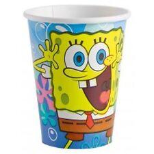 Generique - 8 Bicchieri Carta Spongebob