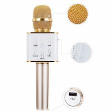 Q7 Wireless Karaoke Microphone Portable Bluetooth KTV Mic Speaker USB Player
