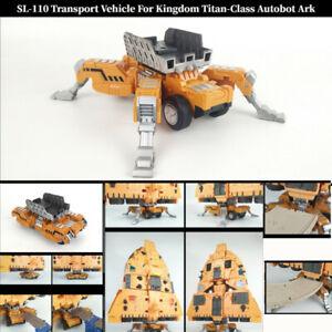 Shockwave Lab SL-110 Transport Vehicle For Kingdom Titan-class Autobot ark