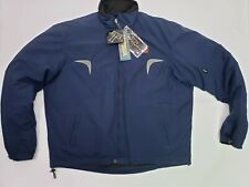Triumph Motorcycles Men's XL Paddock Jacket Blue Reflective w/ removable lining