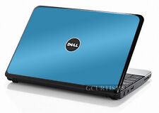 SKY BLUE Vinyl Lid Skin Cover Decal fits Dell Inspiron Mini 10 Netbook