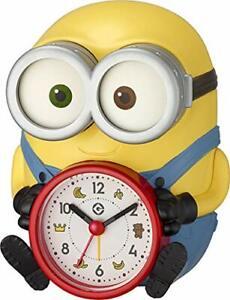 Minion Bob Talking Alarm Analog Clock ( English ) Character's clock New by DHL