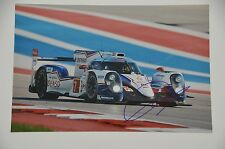 Mike Conway SIGNED 20x30cm PHOTO AUTOGRAFO/Autograph in persona le Mans TOYOTA