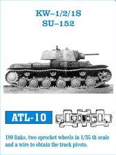Friulmodel Metal Tracks for 1/35 Soviet KV-1/KV-2 (180 links) ATL-10