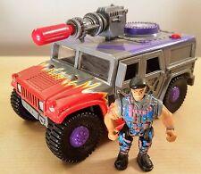 MILITARY MUSCLE MEN SWAMP VIPER ATV 1993 100% COMPLETE GI G.I. JOE VINTAGE