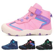 Boys Girls Winter Waterproof Snow Boots Outdoor Sneakers Hiking Shoes Plus Size