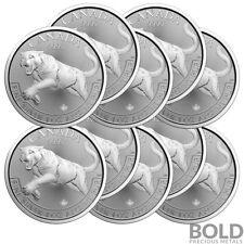 2016 Silver 1 oz Canada Predator Cougar (10 Coins)
