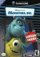 Monsters, Inc Scream Arena - Nintendo Gamecube Game Authentic