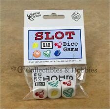 NEW SLOT MACHINE DICE Game Koplow RPG Gambling D6 Set