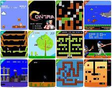 Clásico FC NES para niños 120 juegos retro vídeo de mano CONSOLA 8 Broca SUPER