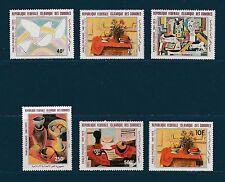 Comores république  peintre Picasso   1981   poste aérienne **