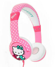 "HELLO KITTY Children's Headphones (Age 3-7 yrs) ""Dotty Kitty"" (HK0323)"