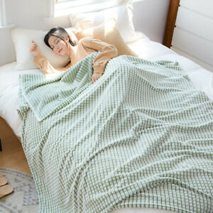 summer blanket thin air conditioning blanket soft bedspread queen king size new