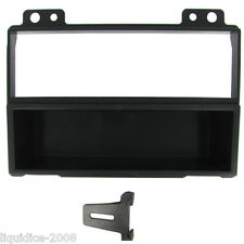 FORD FIESTA 2001 to 2005 BLACK SINGLE DIN FASCIA ADAPTER FITTING PANEL