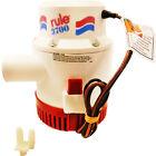 """Rule 14A Non-Automatic Bilge Pump 3700 GPH 12 Volt 1.5"""" Outlet photo"""