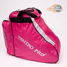 Roller Skate Bag, Large, Pink, Quad, Inline, Ice Skates, Ventro