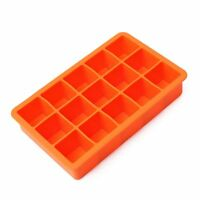 Silicone 15-Cavity Square Drink Ice Cube Pudding Jelly Chocolate Mold Mould L8O2