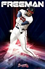 Freddie Freeman MASHER Atlanta Braves MLB Baseball Superstar Wall POSTER