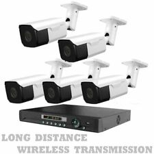Long Range Wireless Security Cameras Night Vision + Dvr
