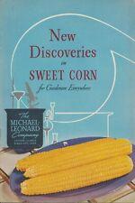 RARE 1950's Michael Leonard Seed Co. Catalog - First Available Hybrid Sweet Corn