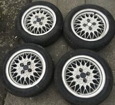 GENUINE BBS RA ALLOY WHEELS 4x100 R15 6J ET35 165601025 WV GOLF MK1 MK2 CAVALIER