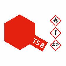 (8,23€/100ml) Tamiya TS-8 Italienisch Rot glänzend 100ml Sprayfarbe Kunstharz 30