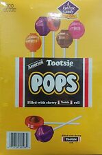 Tootsie Pops ~ 100 Pops ~ Original Flavors with New Added Flavors - Made in USA